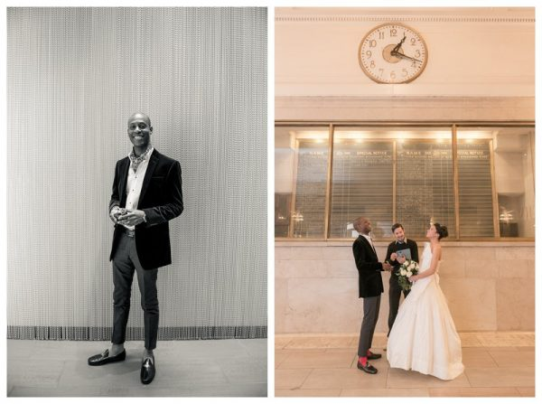 lucy and olu's NYE elopement