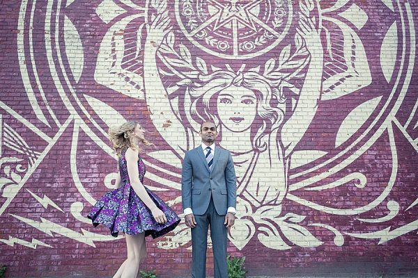 Anna and Sachith's Dumbo Engagement Shoot