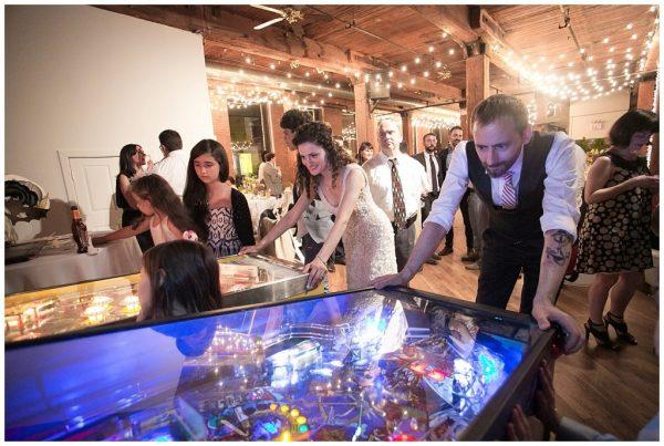 Fun Wedding at Brooklyn Bridge Park and Dumbo Loft