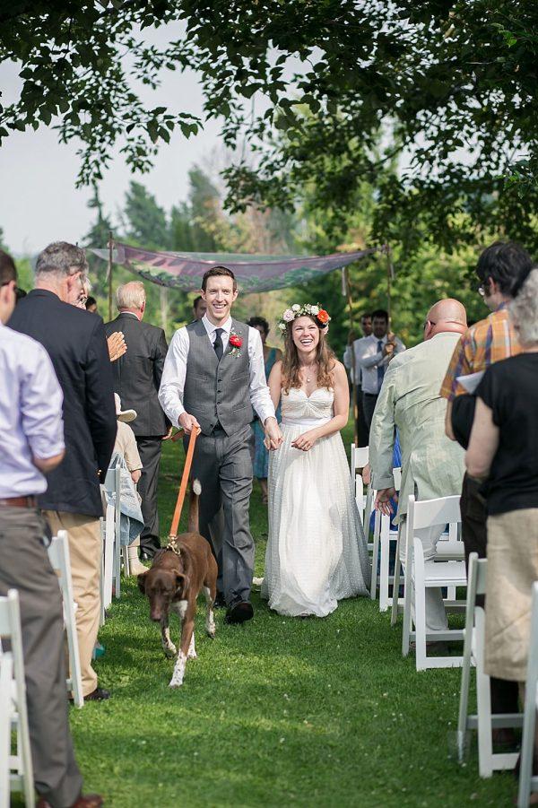 Beautiful Barn Wedding at Windfall Dutch Barn