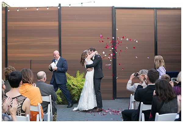 Autumn Wedding at The Green Building