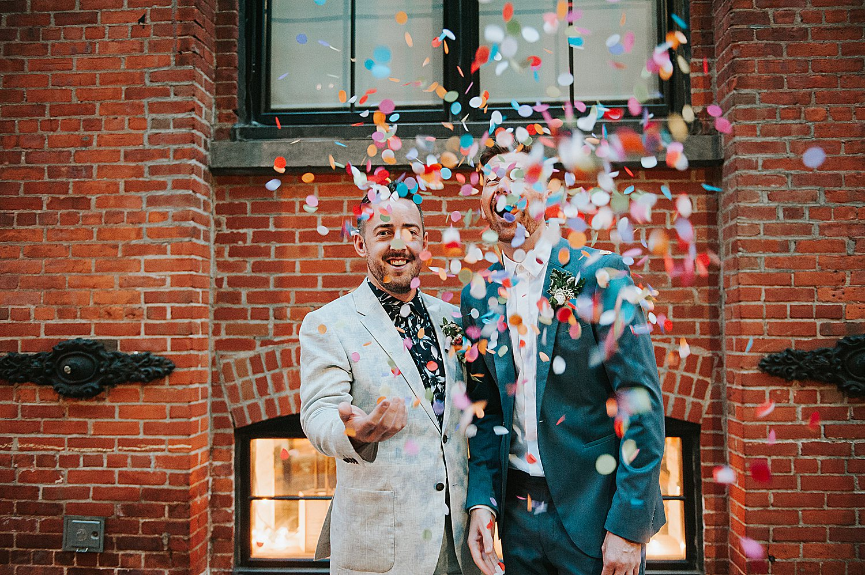 Gay Wedding Photographer in Brooklyn, New York City.