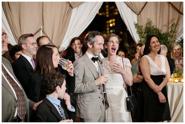 Mariana + David | Nomad Hotel Rooftop Wedding Reception