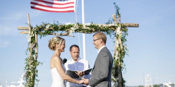 Becca and Craig's Nautical Wedding