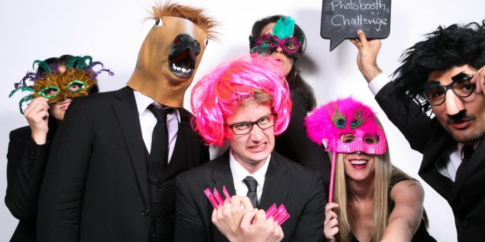 photobooth at the palm house!