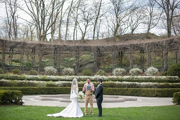 Muy Romantico elopement in NYC