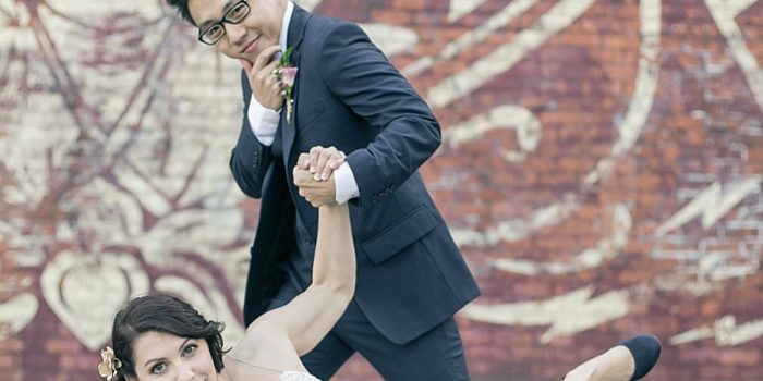 BreakDancers get hitched in Dumbo