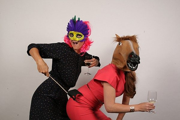 Shannon and Pierre's raunchy fun photobooth!
