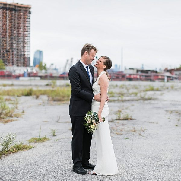 Industrial Brooklyn Wedding at Glasserie