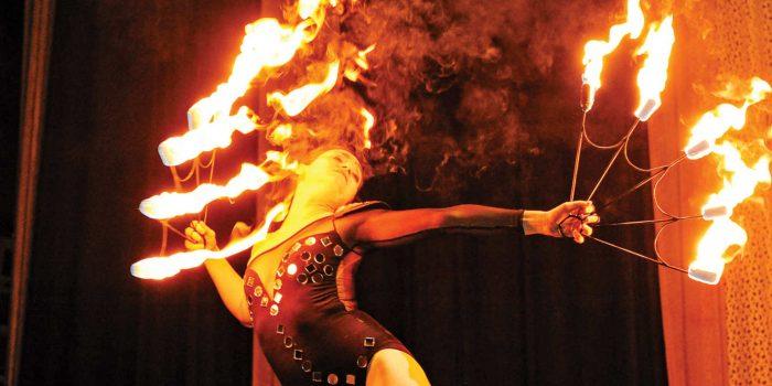 Angela + Yoni | Circus Wedding at The Muse in Bushwick