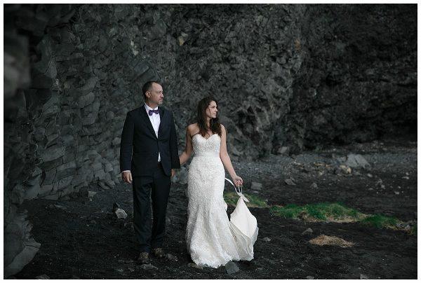 Indre + Adam | Jökulsárlón Glacier Lagoon Elopement