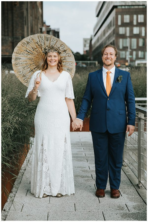 This fabulous Brass Band Beer Hall Wedding