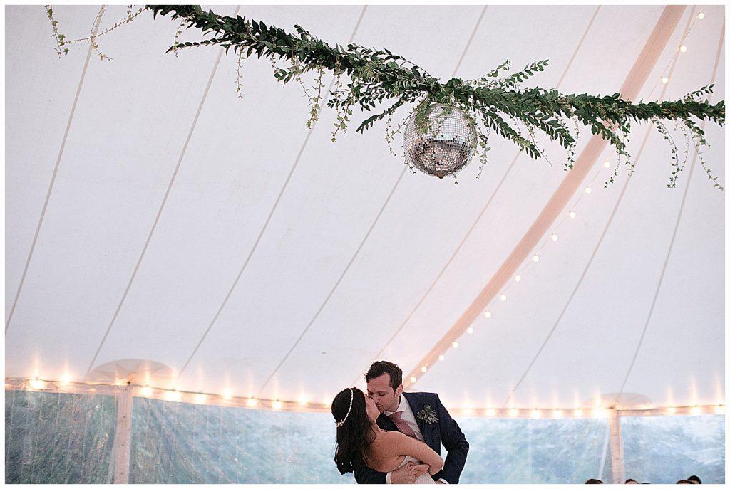 Megan + Andrew  Foxfire Mountain House Wedding
