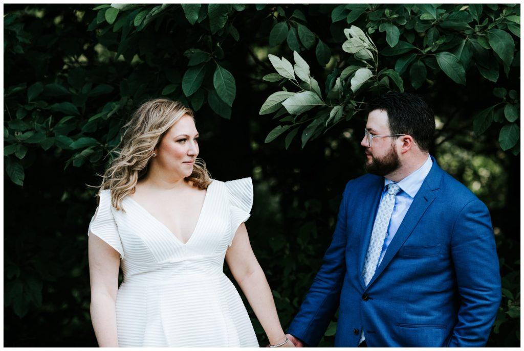 Liz + Ryan happily married couple